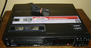 Betamax Super Beta SL-HFR70 Stereo Beta VCR