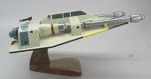 Snow-Speeder-T-47-Star-Wars-Spaceship-Wood-Model-XLarge-Free-Shipping