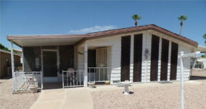 55+ mobile home 2-bdr located in Mesa