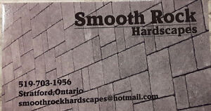 Smooth Rock Hardscaping Kitchener / Waterloo Kitchener Area image 1