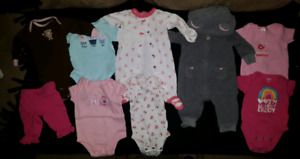 Excellent condition baby girl clothing  (Newborn)