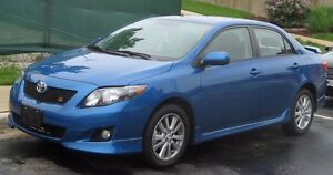 BLUE TOYOTA COROLLA 2009 (AS IS)