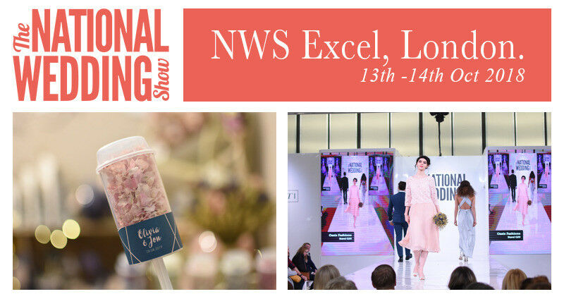 2 tickets the national wedding show 13 14 october 2018 at excel