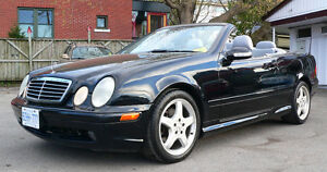 Gorgeous MERCEDES CLK 430 AMG-line CONVERTIBLE