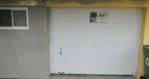 Garage door  Made by Garaga 14 x 7