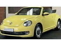 2014 Volkswagen Beetle 1.2 DESIGN TSI 2d 103 BHP Convertible Petrol Manual