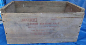 RP1511 Vtg CIL Short Period Electric Blasting Caps Dynamite Box Kawartha Lakes Peterborough Area image 4