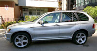 2000 BMW X5 4.4i Silver- Sports package