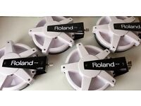 Roland PD-80 8 inch Mesh V-Pad 4 electronic drum triggers