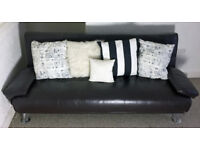 Sofa Bed (faux leather)