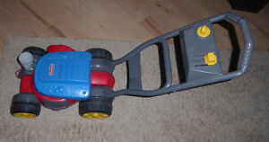 Fisher Price bubble toy lawn mower