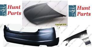 Bumper Fender Hood Rear Front Pare-choc avant arrière Aile L'aile Capot Toyota Echo 2000 2001 2002 2003 2004 2005