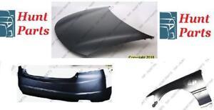Bumper Fender Hood Rear Front Pare-choc avant arrière Aile L'aile Capot Audi A4 2002 2003 2004 2005 2006 2007 2008 2009