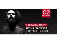 Damian Marley in Lecce, ITALY
