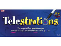 Brand new Telestrations board game