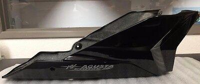 MV Agusta B990 Belly Pan Fairing, Black/Silver