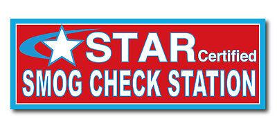 Smog Check - Star Certified 3x8 Vinyl Banner Sign