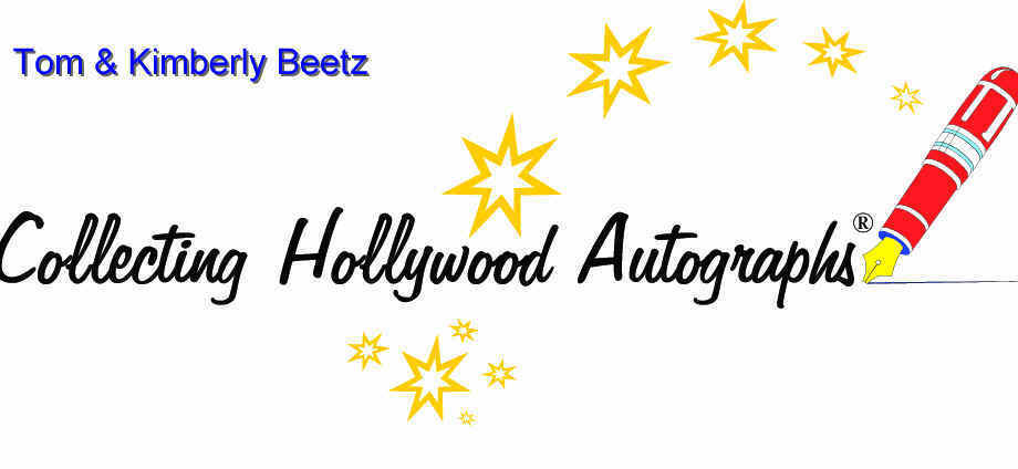 Collecting Hollywood Autographs