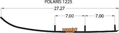 WOODYS TRAIL BLAZER CARBIDE WEAR BARS RUNNERS POLARIS DRAGON FRONTIER FUSION HO