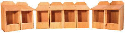 8 Cedar Nesting Boxes, for Robins, Cardinals, Bluebirds, Titmouse.... Bird House