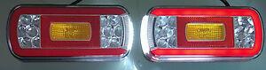 2 x  LED Rückleuchte LKW PKW Wohnmobil  Wohnwagen Anhänger  Leuchte   12V-24V