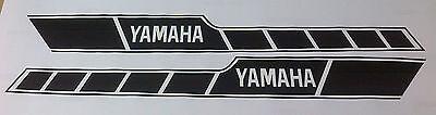 <em>YAMAHA</em> RD400 RD 400 RD250 RD 250  DECALS CDX E AND F TANK DECALS