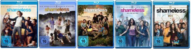 Blu-ray Set * Shameless - Season/Staffel 1+2+3+4+5 * NEU OVP