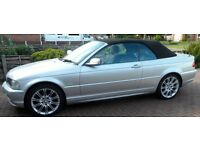 2002 BMW 318 (E46) CONVERTIBLE FOR SALE SAT-NAV, PARKING SENSORS VERY GOOD CONDITION 12 MONTHS MOT
