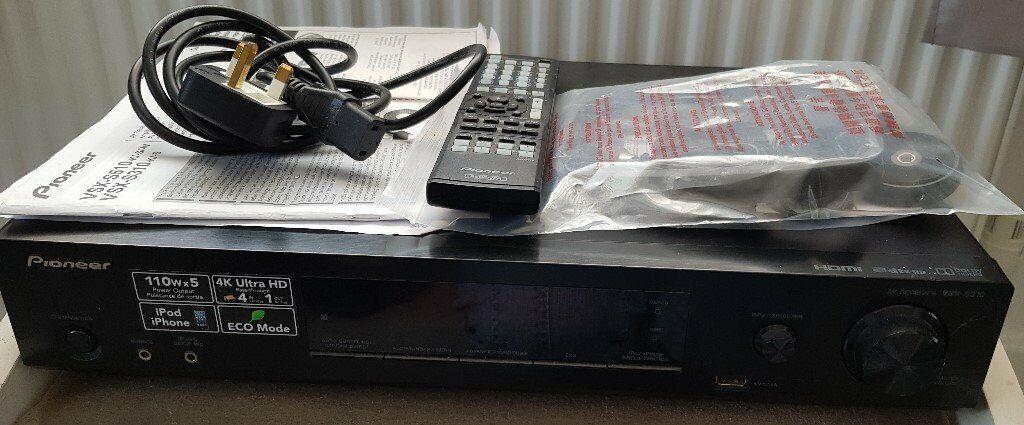 Pioneer VSX-S310-k/-s AV Receiver   in Penwortham, Lancashire   Gumtree