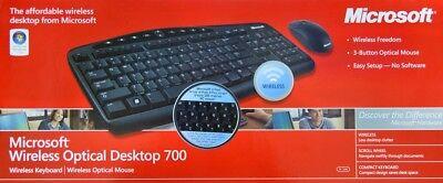 Microsoft Wireless Optical Desktop 700 Keyboard and Mouse Combo  Optical Desktop 700 Keyboard Mouse