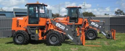 2000kg Capacity Diesel Loader - Everun ER20 - Not Bobcat, Dingo,