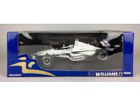 MINICHAMPS -WILLIAMS BMW FW22 JENSON BUTTON- 1:18 F1 GP TEAM SHOWCAR MODEL BOXED