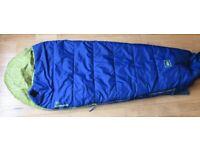 Child's sleeping bag & mat