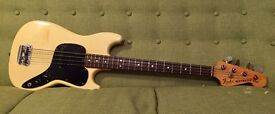 1978 Fender Musicmaster Bass Guitar - Vintage Short Scale