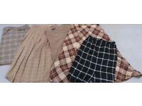Joblot Wholesale Ladies Vintage Wool Skirts 15 pcs