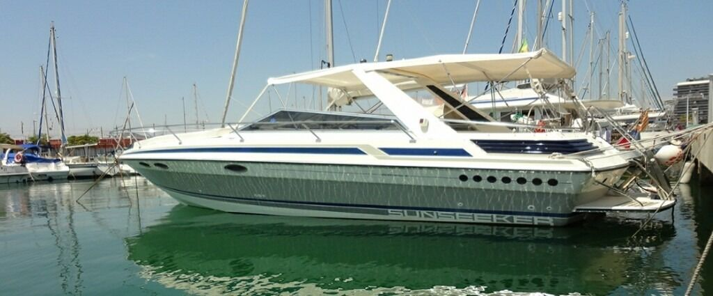 Sunseeker Portofino 31 Diesel Power Boat In Barcelona Spain In Exmouth Devon Gumtree