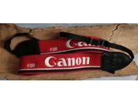 Canon Logo SLR camera neck strap