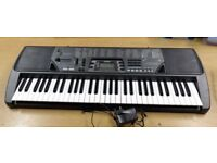 SUPERB CASIO CTK710 KEYBOARD.IDEAL BEGINNER PSU,SONGBOOK.CHORD PLAY.L/R HAND