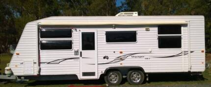 Kingdom Voyager Mk3 Ensuite shower toilet 3 berth 23 Ft Roll out Banksia Beach Caboolture Area Preview