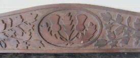 Antique Carved Oak Panel (see details)