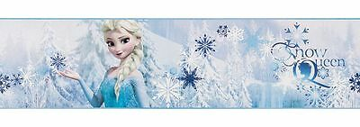 ❤️ Kinderzimmer Borte Bordüre selbstklebend 90-066 Disney Eiskönigin Anna Elsa
