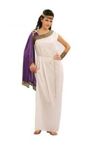 Toga Dress Costume Greek Roman Goddess Size 12-16
