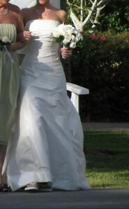 Ivory wedding dress - size s