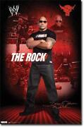 WWE The Rock Poster