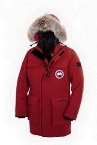 Canada Goose Men Citadel Parka Red