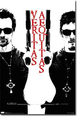 Boondock Saints Movie Poster 22x34 Veritas Aequitas X137