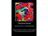 Tangerine Dream Dante's Inferno DVD Live 2002 Cologne
