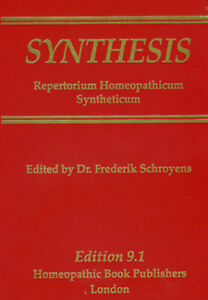 Synthesis Repertory, Version 9.1 - Repertorium Homeopathicum