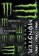 Monster Motorcycle Decals