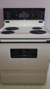 Moffat electric stove